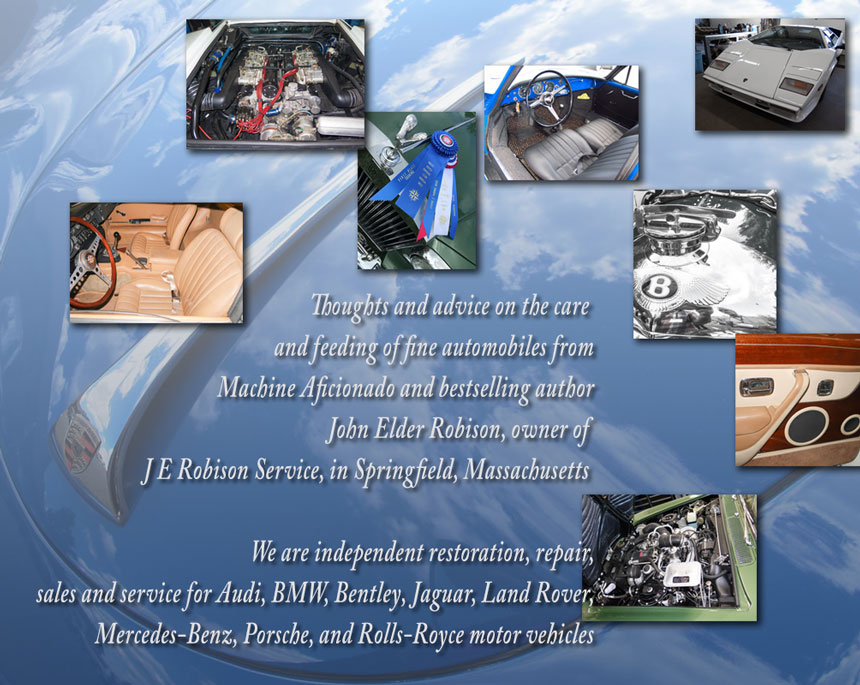 JE Robison Service - Bosch Car Service Specialists — the blog