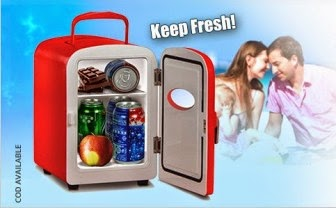 Buy VOX Portable 4 Ltr Mini Refrigerator for Car & Home at Rs.1999 : Buy To Earn