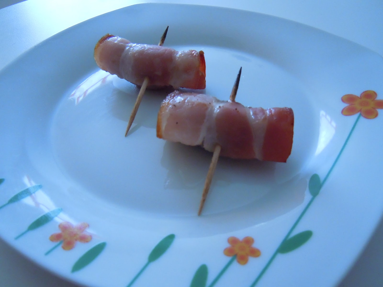 Bocados de Dátil y bacon