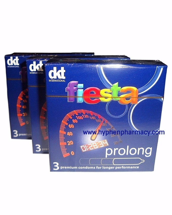 FIESTA PROLONG CONDOMS