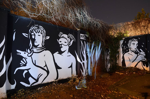 """Panismo"" New Street Art Piece By Italian Artist MP5 In Torino. 3"