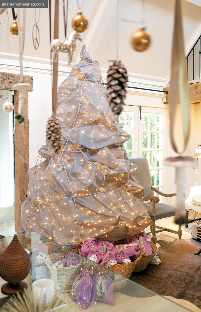 La casa de jill sharp brinson decorada para la navidad - Casas decoradas en navidad ...