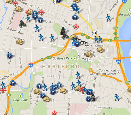 SpotCrime  The Public39s Crime Map September 2014