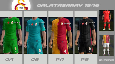 PES 2013 Galatasaray 2015-16 GDB by Peter
