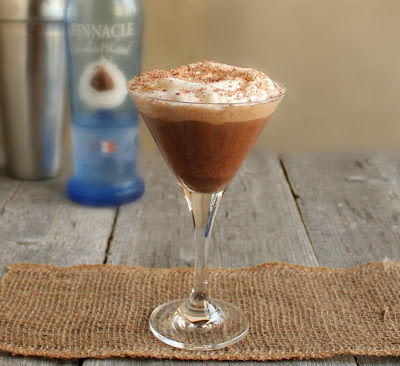 Chocolate Sweetheart Martini