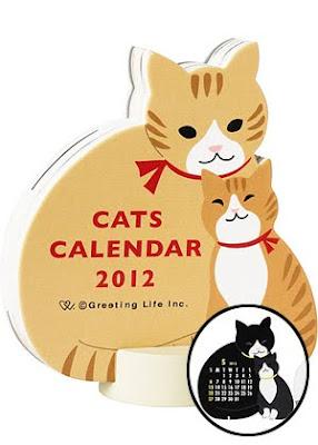 Catsparella Catsparella 2012 Cat Calendar Guide