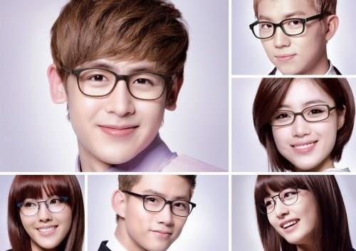 Model kacamata artis korea keren terbaru lagi trend