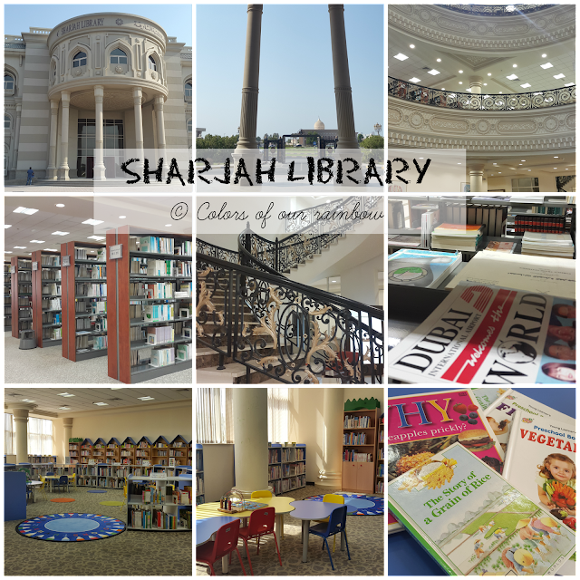 SHARJAH LIBRARY @https://colorsofourrainbow.blogspot.com/