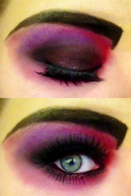halloween vampire makeup eyes