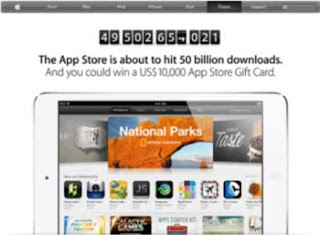 You could win $10,000 Apple Giift Card