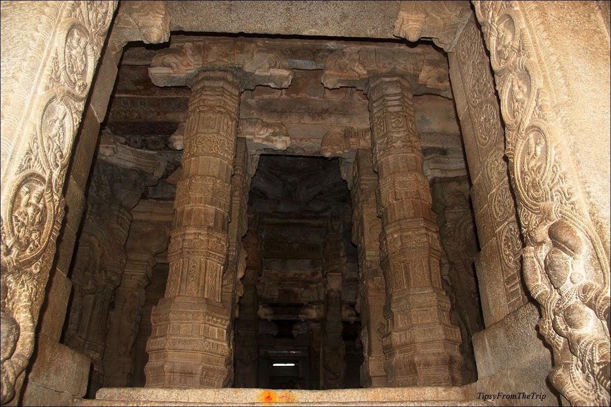 Pillared Hall, Lepakshi