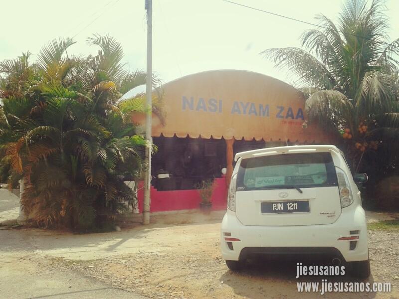 Nasi Ayam Zaa Di Kerteh, Terengganu