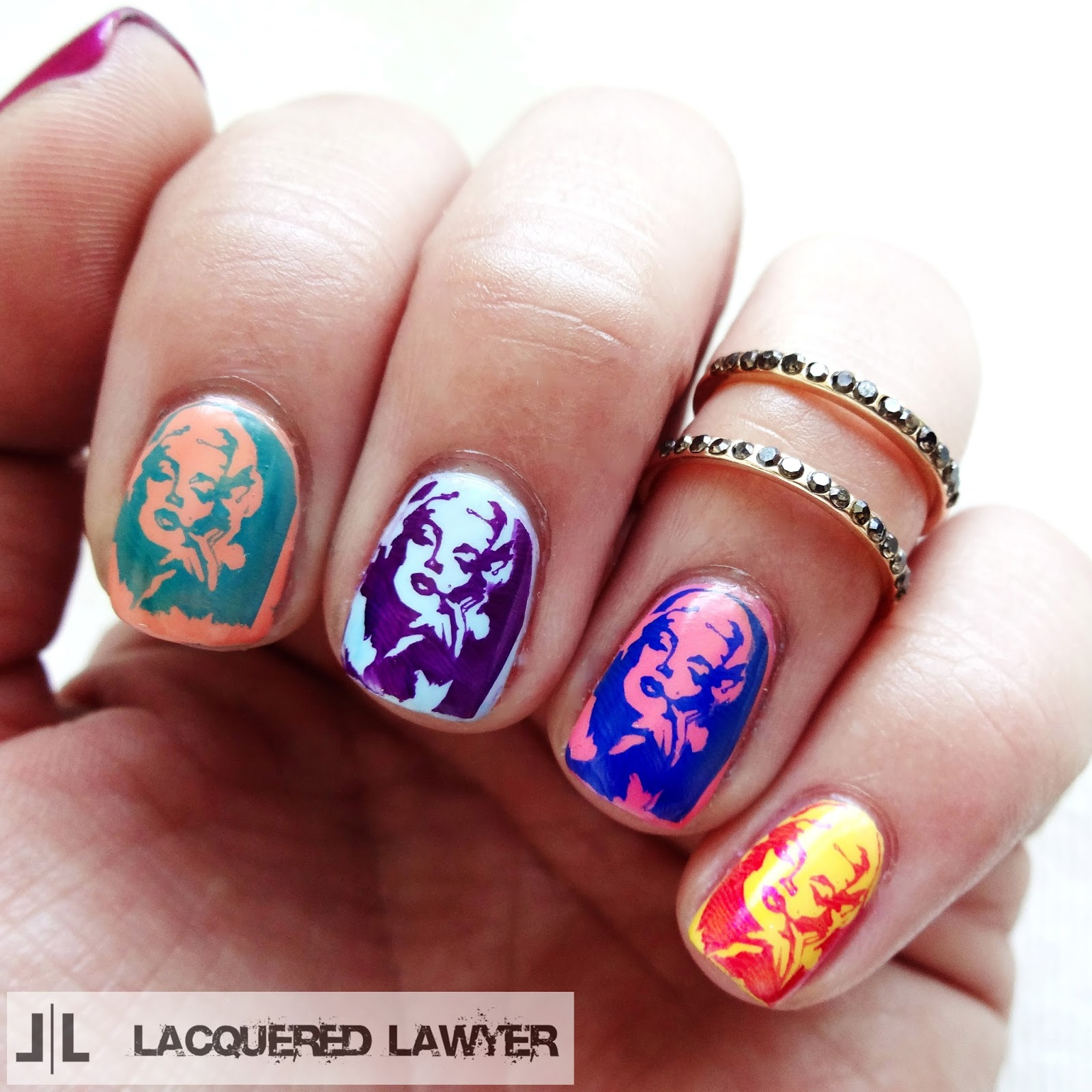 Lacquered Lawyer | Nail Art Blog: Just Marilyn