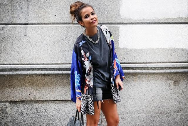 street style inspiration kimono