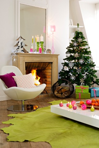 Chimeneas en navidad ideas para decorar dise ar y - Chimeneas de decoracion ...
