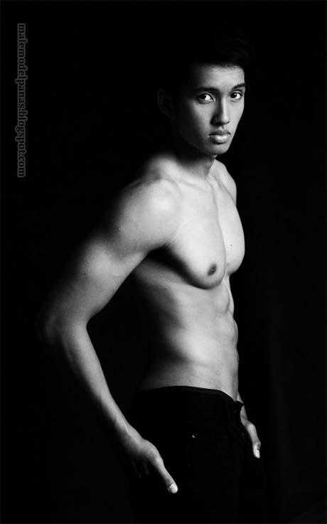 indonesian male model gillian pangalila