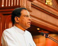 President Sirisena To Allow Death Penatly From Next Year