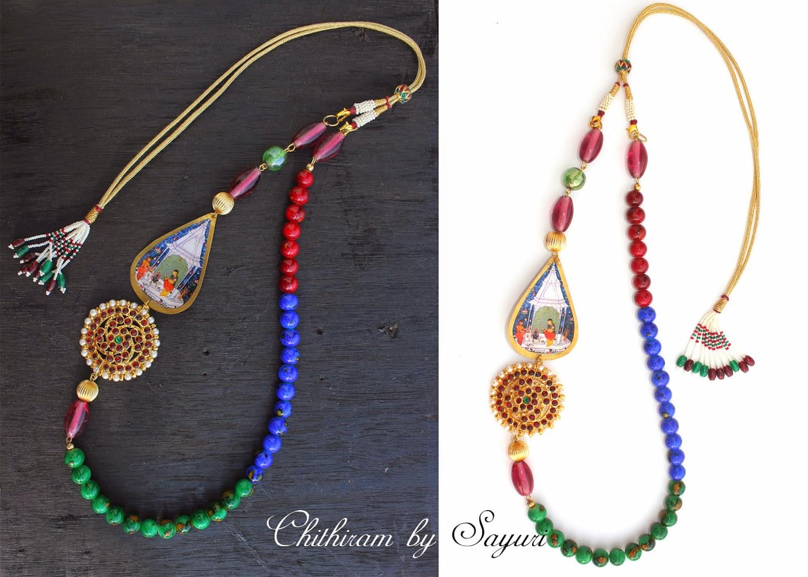 Indian Beaded Necklace, Ragamala