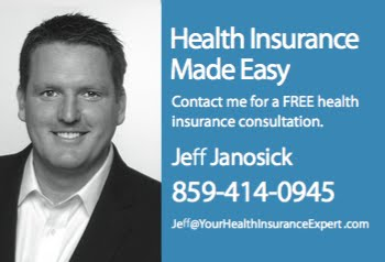 Do you need help purchasing health insurance? Contact Jeff Janosick today. 859-414-0945