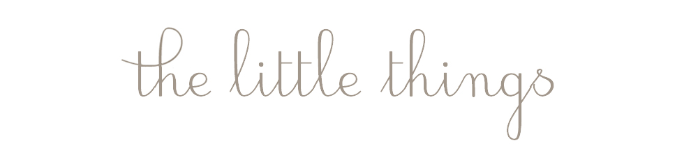 The Little Things | UK Lifestyle & Fashion Blog
