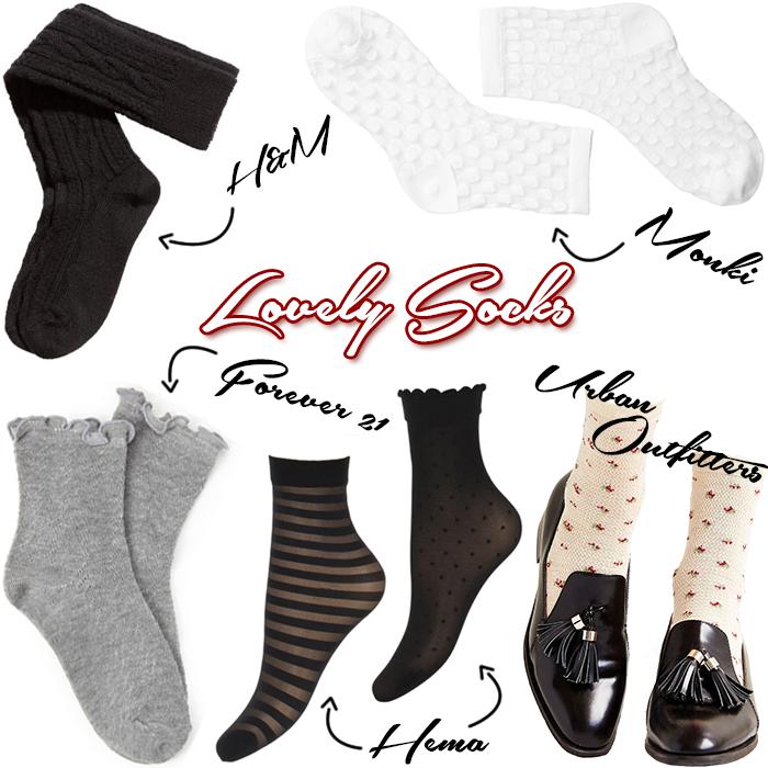 Leuke, schattige, mooie sokken om in sandalen te dragen van Hema, Forever 21, H&M, Zara en meer!