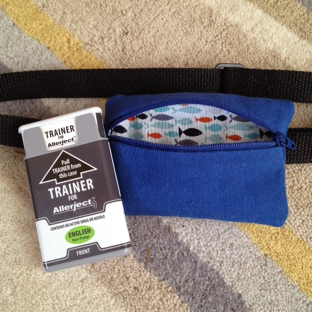 Epi-Pen Allerject Case Pouch Belt from Twelve Bees