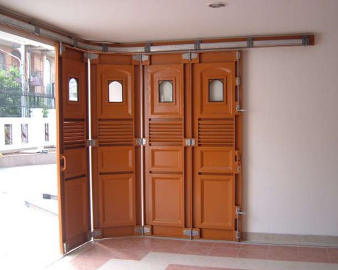 Pintu Garasi Besi Slidding