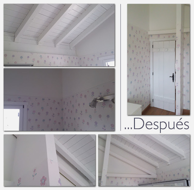 Reforma dormitorio Laura Ashley infantil - después