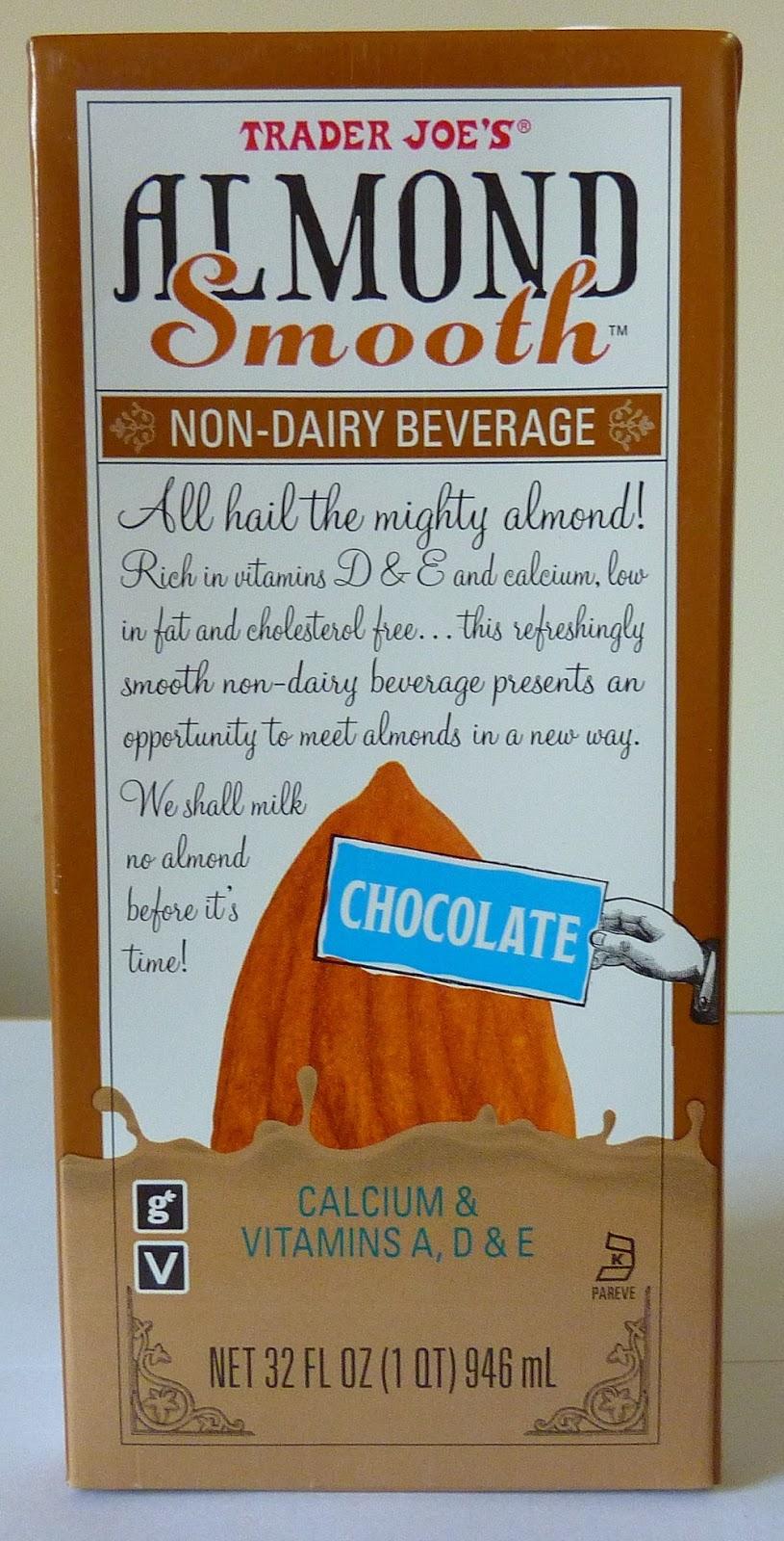 What's Good at Trader Joe's?: Trader Joe's Chocolate Almond Smooth ...