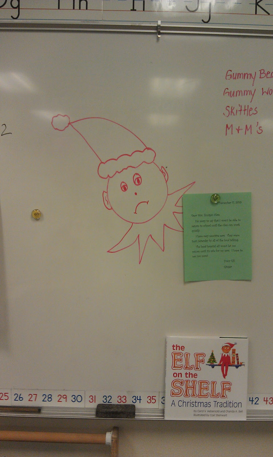 Teacher and a Mom: Elf on a Shelf Behavior Management!