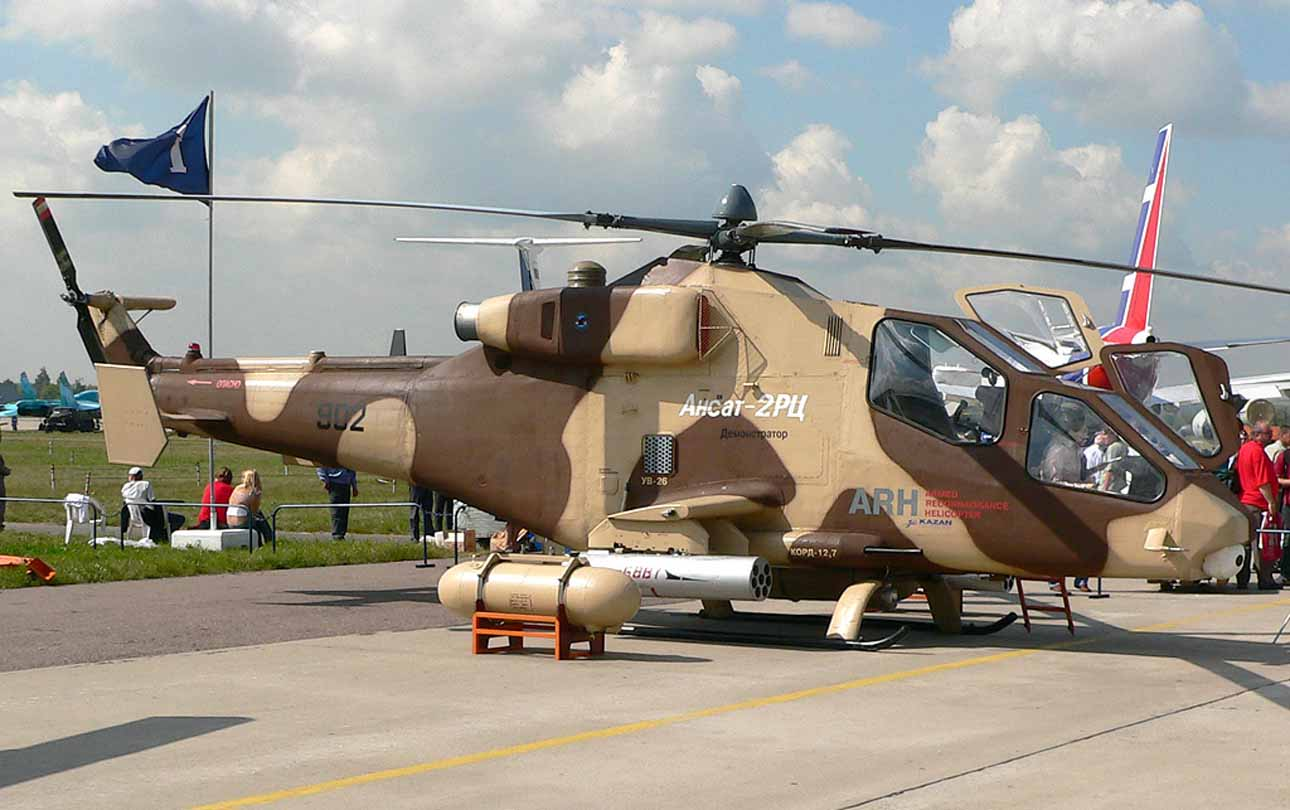 Kazan Ansat 2RC Recon Helicopter Kazan+Ansat+is+a+Russian+light%252C+multipurpose+helicopter+manufactured+by+Kazan+Helicopters.+gunship+attack+export++%25286%2529