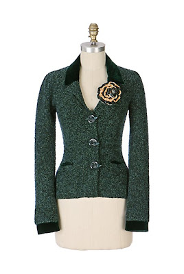Anthropologie Coming Up Roses Jacket
