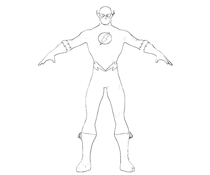 Free S Flash Coloring Pages