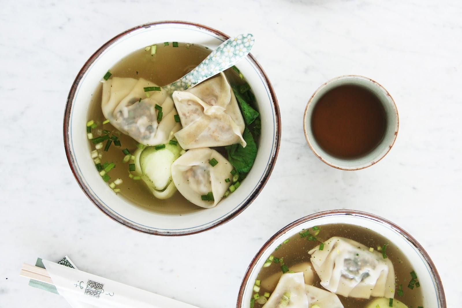Veggie Wonton Soup