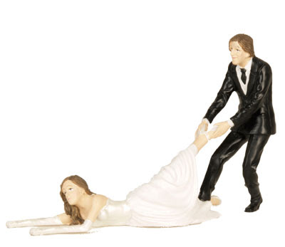 HD wallpapers wedding cake topper reluctant groom