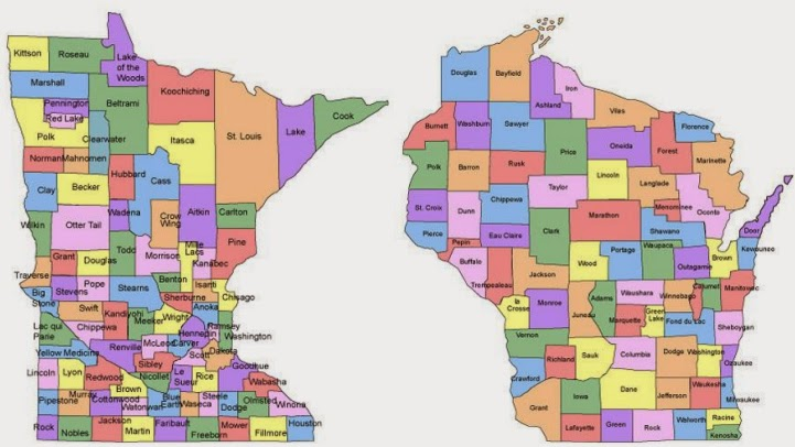 Minnesota & Wisconsin