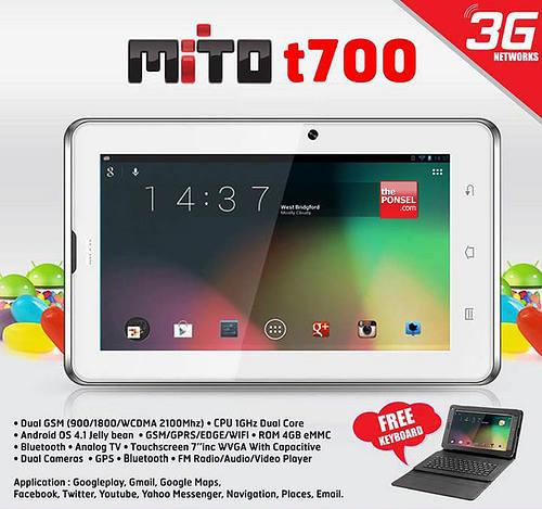 Spesifikasi Mito T700