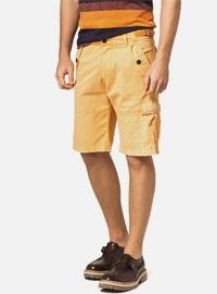 bermuda masculina bolso lateral presente