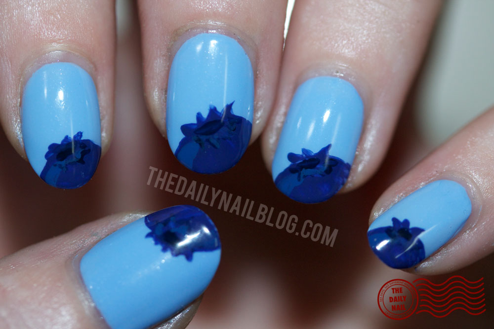 Feelin blue berry the daily nail feelin blue berry prinsesfo Images