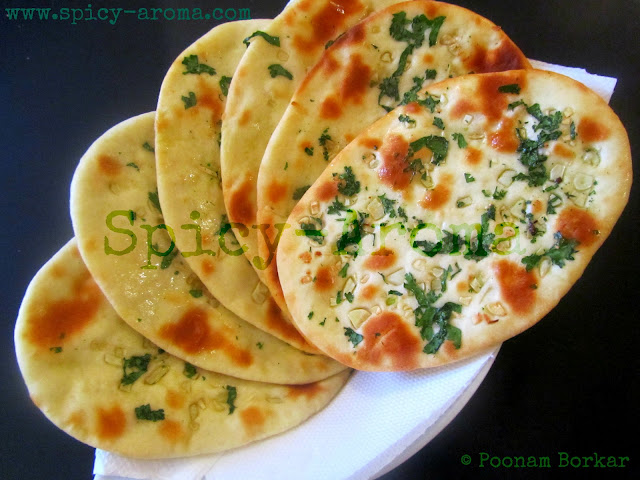 Garlic Naan - Step by Step Recipe | Spicy-Aroma