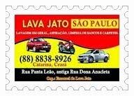 LAVA JATO  SÃO PAULO - RUA DONA ANA CLETA - CATARINA