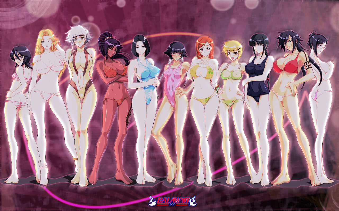 Anime bleach characters girls