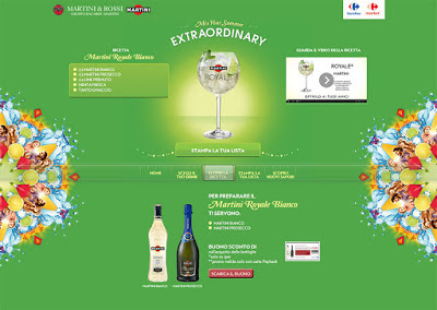 Mix your Summer_ Martini&Carrefour