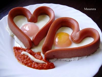 smiješne slike Kobasice i jaja