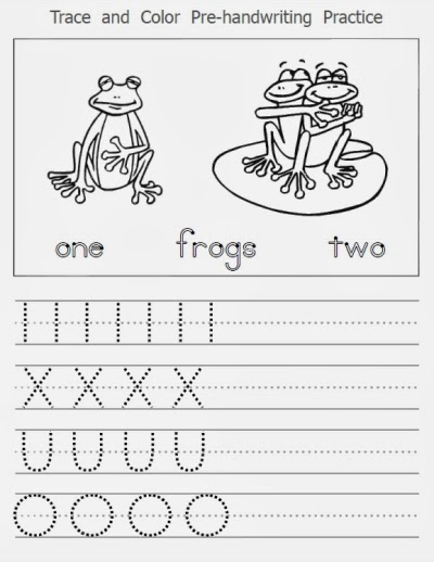 pre handwriting worksheets These handwriting worksheets are a great way to teach kids how to write the letter a, both uppercase and lowercase the worksheets are printable and can be used in.