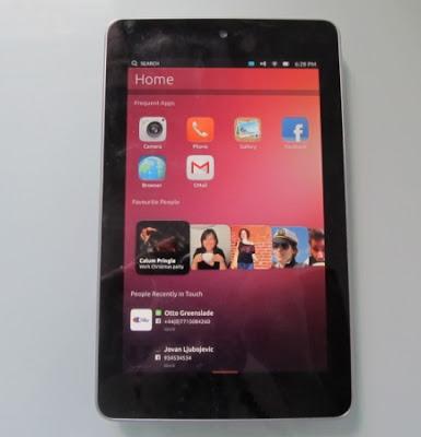 Ubuntu In Nexus 7