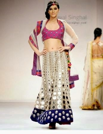 Bibi Jan 2013 Dresses Design Fashion PAYAL SINGHAL Designer Lehnga