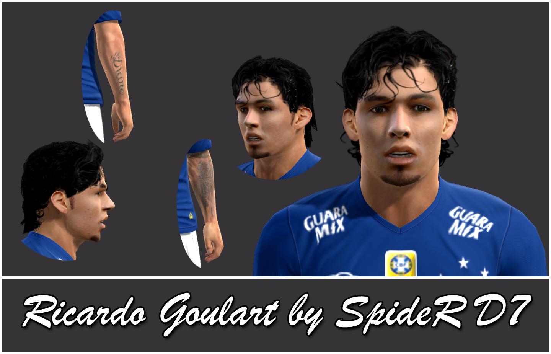 PES 2013 Ricardo Goulart (Cruzeiro) Face by SpideR D7