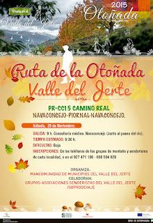 "RUTA SENDERISTA ""Otoñada Valle del Jerte"""