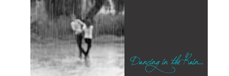 people dancing in rain. Dancing in the rain